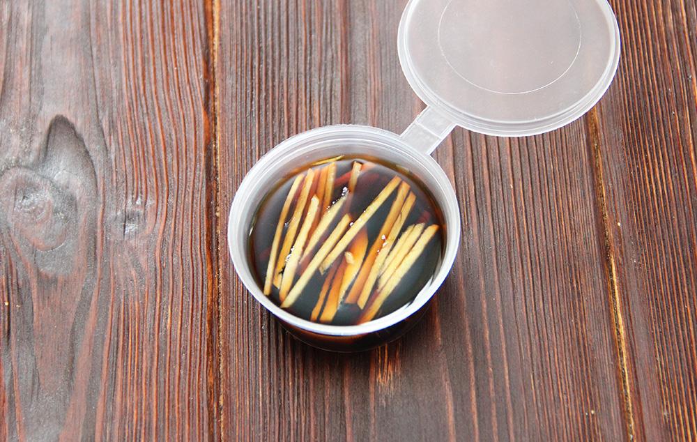 Соевый соус с имбирем