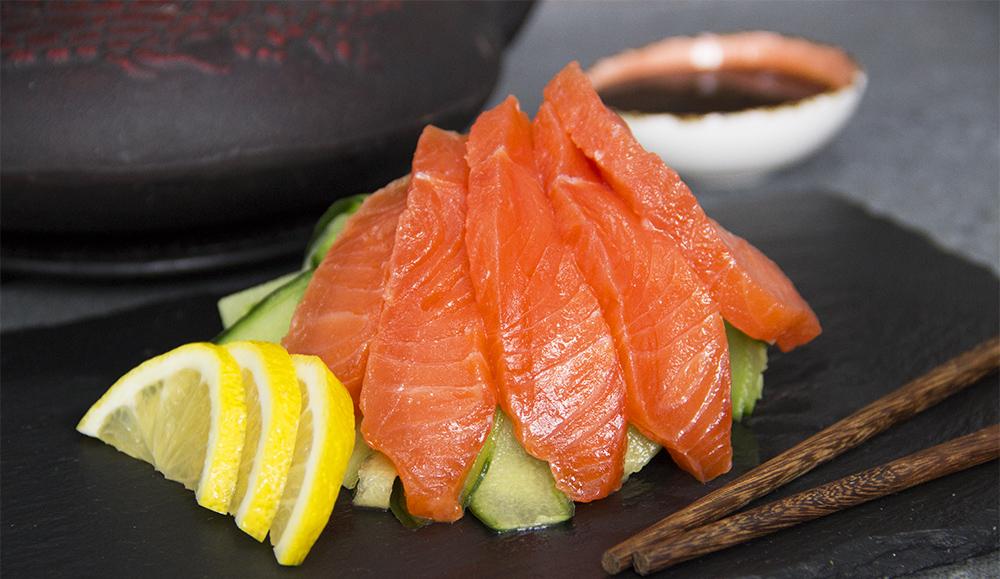 Сашими из лосося